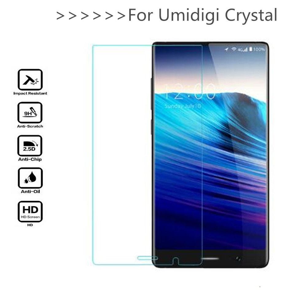 Screen Protector For Umidigi Crystal Glass Tempered Phone Protective Film Tempered Glass For Umidigi Crystal
