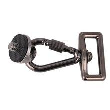 """Kaliou DSLR Cámara 1/4 """"adaptador de conexión de tornillo para cabestrillo con correa de hombro cuello Correa Cámara bolsa caso Canon Nikon Sony"""
