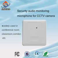 Micrófono de audio CCTV integrado en la pared de sihid SIZ-155 para escuchar el sonido de los accesorios de videovigilancia