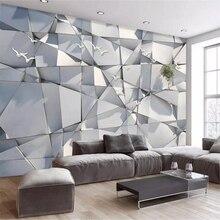 Beibehang papel де parede пользовательские обои 3d фото фрески абстрактный Творческий мраморный лист художественный узор ТВ фон обои