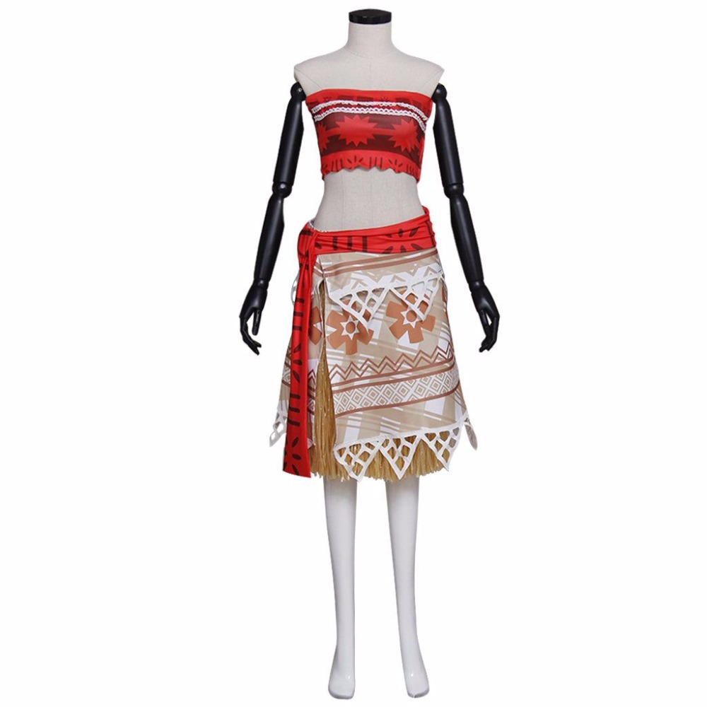 CosplayDiy Women's Dress New Arrival Moana Dress Princess Cosplay