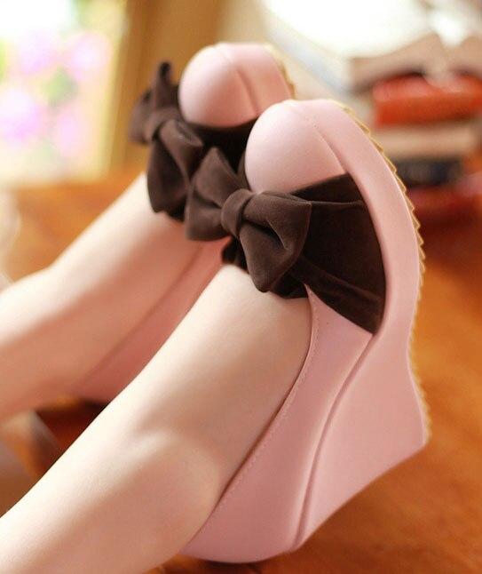 fashion wedges platform font b women s b font high heel lady font b shoes b