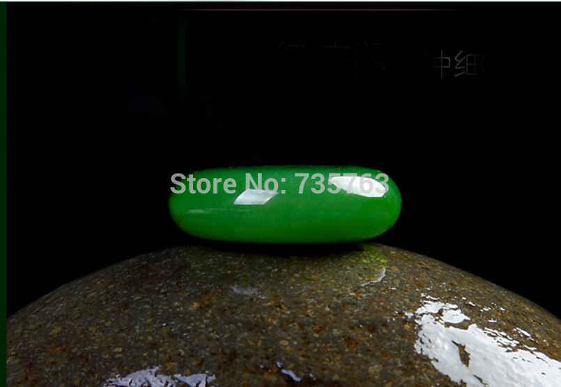X iuli 0014733 Hetianสีเขียวหยกแจสเปอร์สร้อยคอจี้jadeiteจีนมรกตicyโดนัท(c0323)