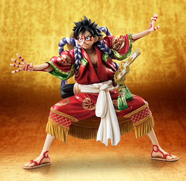 One Piece Kabuki Edition Luffy Action Figure 1/8 scale painted figure Monkey D Luffy Doll PVC ACGN figure Toy Brinquedos Anime free shipping 7 one piece anime monkey d luffy kabuki edition boxed 18cm pvc action figure collection model doll toy gift