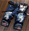 Summer Men Short Jeans Men's Fashion Shorts Men Summer Clothes Men's Short Denim Punk Mens Ripped Holey Jeans Shorts