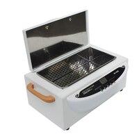 Стерилизатор коробка ногтей металлические щипцы пинцет для дезинфекции Маникюр Инструменты 220 В высокое Температура сухое тепло стерилиза