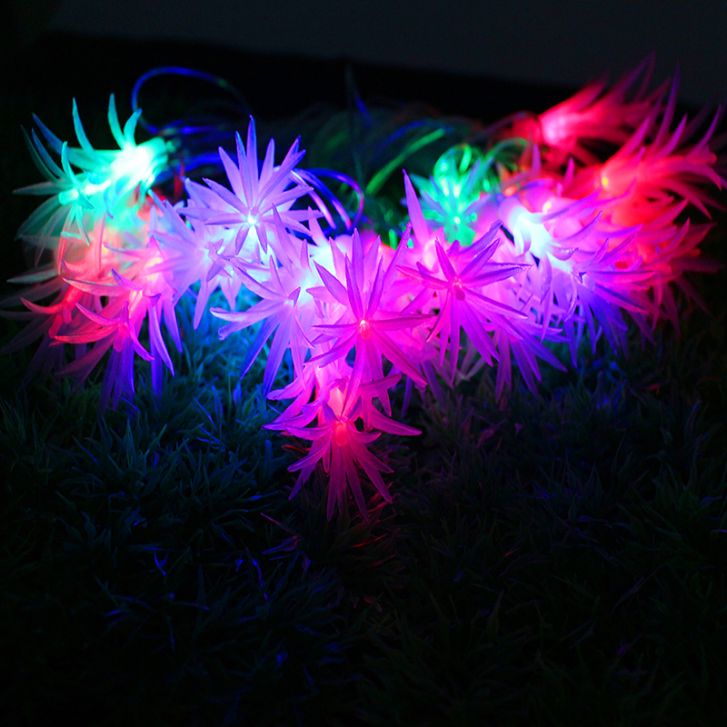Exceptional Christmas Led String Light Colorful 4M 20LED AC 220V Pine Needle Waterproof  Lamp For Patio Garlands Holiday Outdoor Decoration