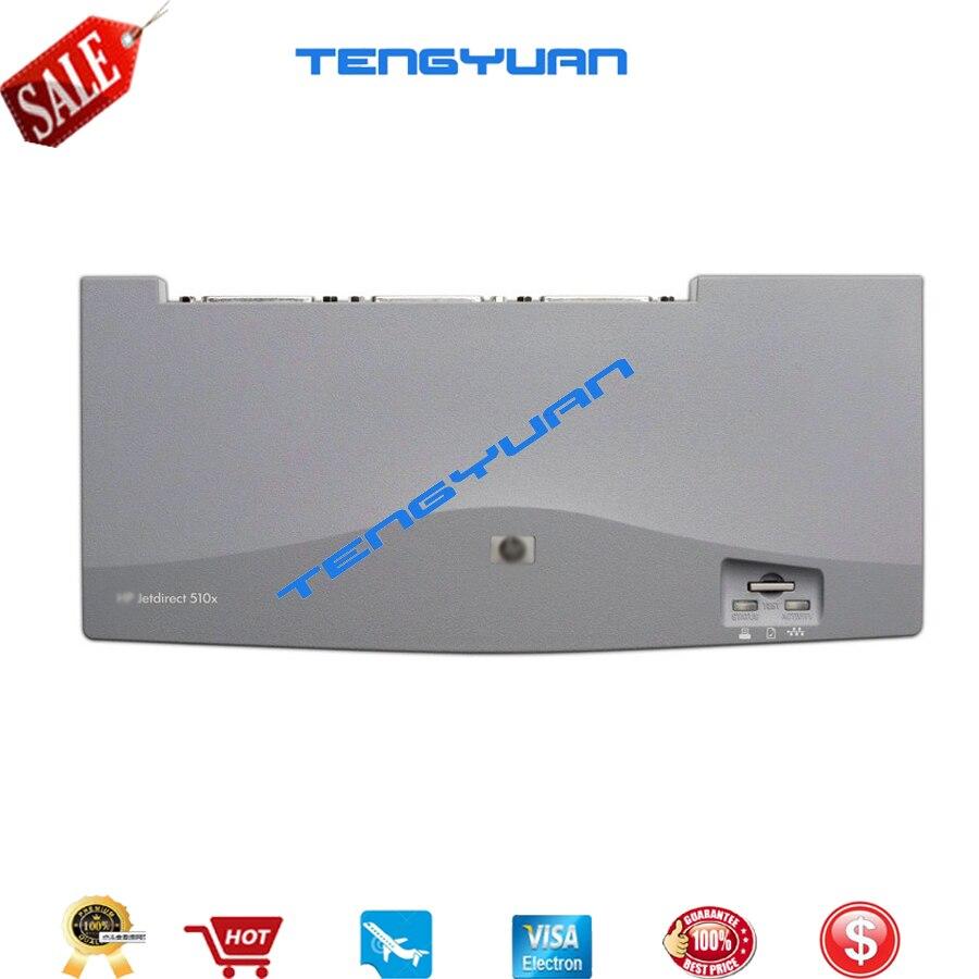 Nouveau serveur d'impression externe de carte JetDirect d'origine J7983G-pas d'adaptateur secteur pour les pièces d'imprimante de carte réseau de la série HP510X HP 510X