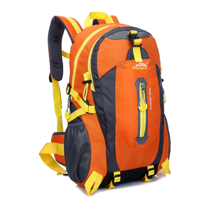 HU WAI JIAN FENG 40L sac de ski de montage sac à dos tactique Oxford tissu cyclisme adulte noir extérieur sac à dos Playking