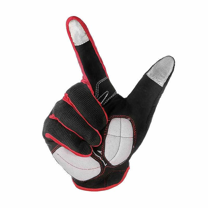 RIGWARL オートバイ手袋ジェルパッド入り通気性ガントモトタッチスクリーンモトクロスダートバイクサイクリングバイク乗馬モト手袋