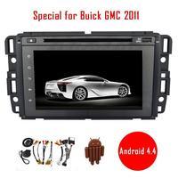 7 Android 4,4 автомобильный dvd плеер специально для Buick GMC 2011 Автомобильный Радио стерео видео головное устройство аудиосистемы gps навигация Авто