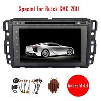 7 Android 4 4 Car Dvd Player Special For Buick GMC 2011 Car Radio Stereo Video