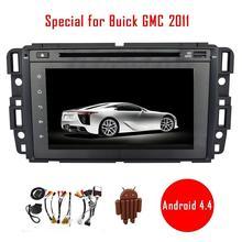 """7 """"Android 4.4 dvd-плеер автомобиля специально для Buick GMC 2011 автомобилей Радио стерео аудио-видео головное устройство GPS навигация Авторадио Wi-Fi"""