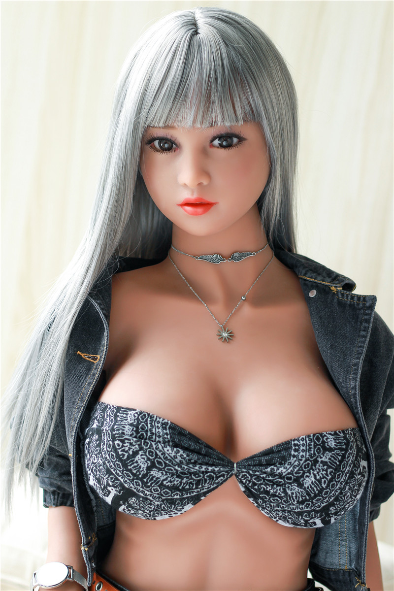 <font><b>140cm</b></font> 4ft 7.12in Full Size <font><b>Sex</b></font> <font><b>Dolls</b></font> Real Lifelike <font><b>tpe</b></font> Silicone Love <font><b>Doll</b></font> with Big Boobs and Standing Customize image