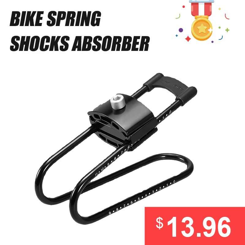 Bike Shocks Spring Saddle Absorber  Bicycle Cycling Suspension Device MTB Aluminum alloy Bike Shock Absorber