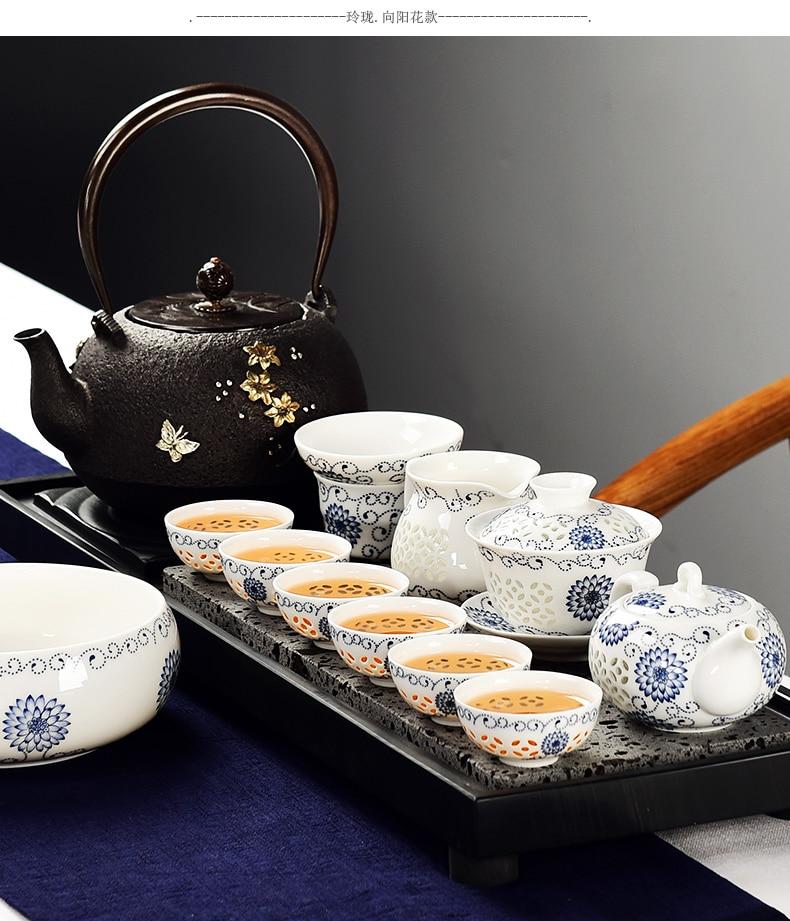 Service à Thé Porcelaine de Chine pour cérémonie du thé | OkO-OkO™
