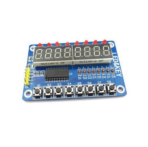 Key Display For Arduino New 8-Bit Digital LED Tube 8-Bit TM1638 Module