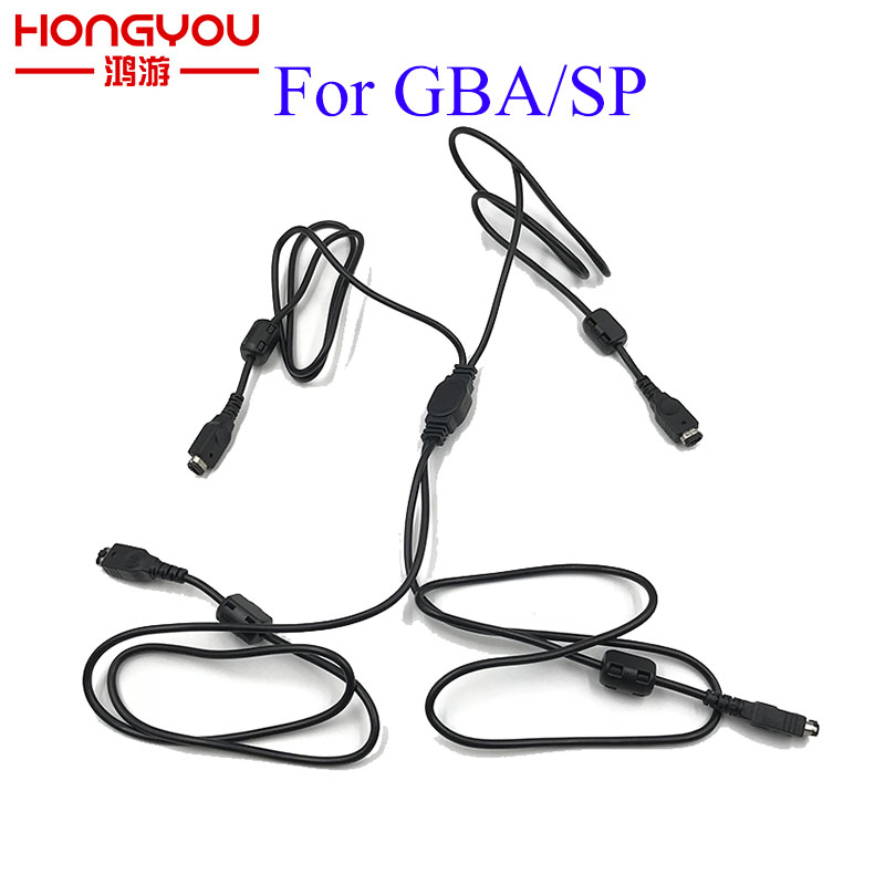 Four 4 PLAYER LINK CABLE for NINTENDO GAME BOY ADVANCE SP GBA CONSOLES