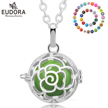 Eudora Harmony Bola Ball Pendant Necklace Chime Angel Sounds Baby Caller Pregnancy Charm Pendants Jewelry