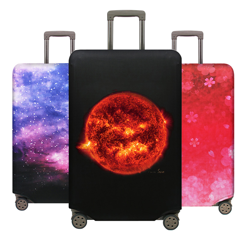 Brand Suitcase Elastic Protective Cover Luggage Cover Travel Accessories 18 To 32 Inch Travel Trolley Suitcase Case Luggage Case
