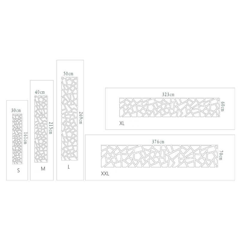 Современные абстрактные геометрические прямоугольной формы 3D акриловые зеркальные наклейки на стену домашний Декор Гостиная фон украшение Фреска R068