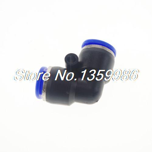цена на (50) Tube OD 8mm Push In Pneumatic Connector Elbow Fitting Equal L