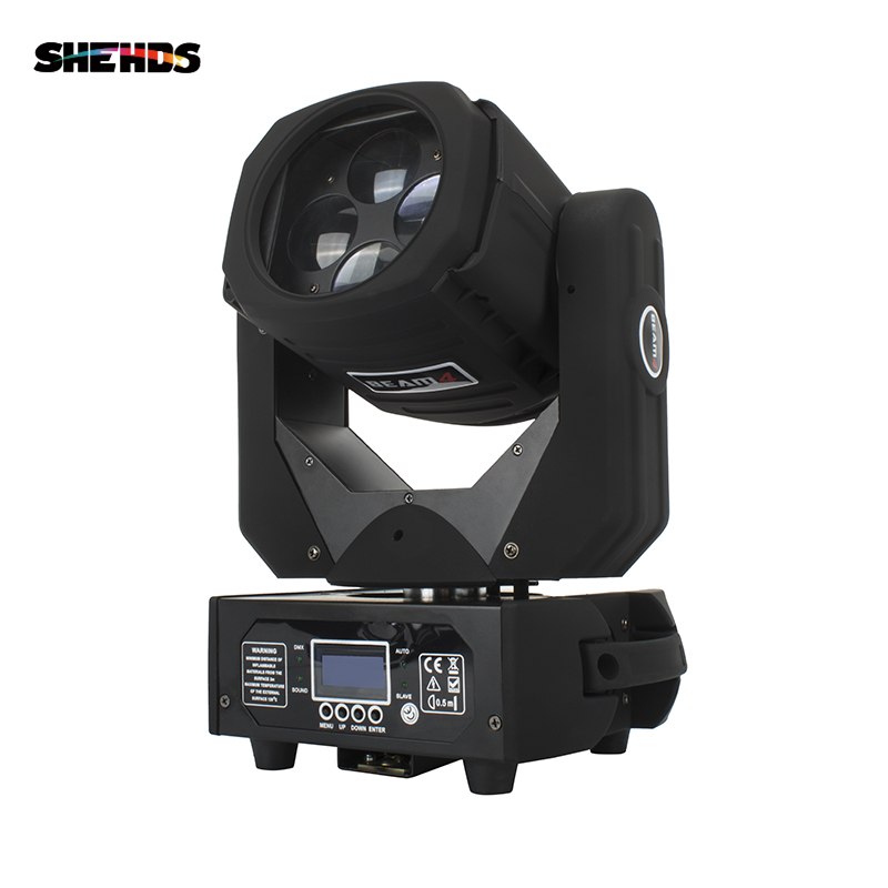 Fast Shipping New Hot-Sale LED 4X25W Super Beam Lighting Moving Head Light Good For Stage DJ Disco Nightclub And Home Party
