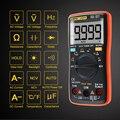 ANENG AN8009 True-RMS автоматический Диапазон Цифровой мультиметр NCV Омметр переменного/постоянного напряжения Амперметр измеритель тока Измерение...