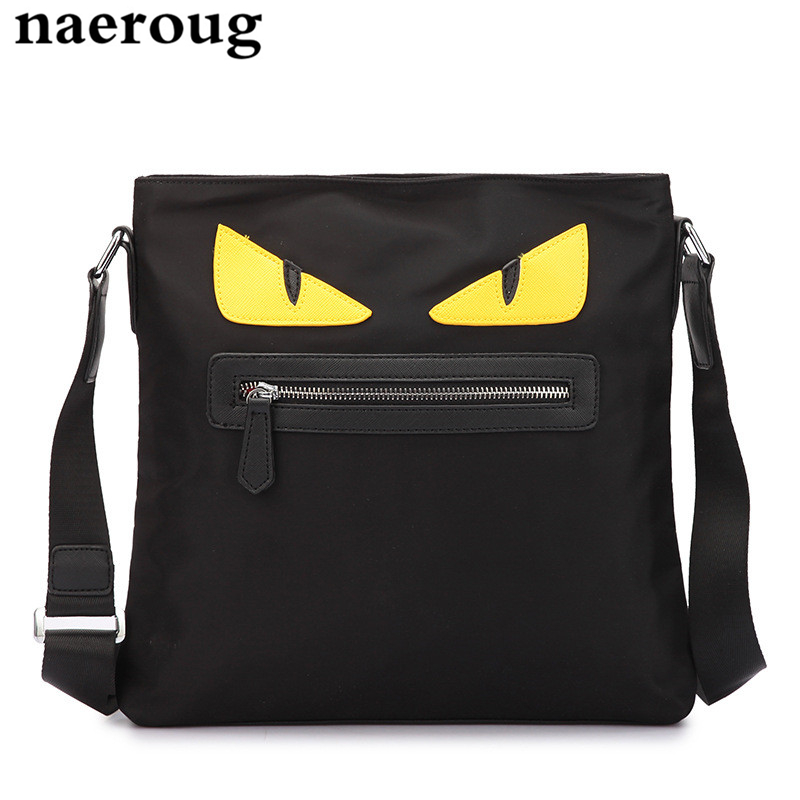 Men Women Brand Briefcase Bag Famous Designer Monster Bags Fashion Women Luxury Handbag Oxford Messenger Crossbody Shoulder Bags fashion casual michael handbag luxury louis women messenger bag famous brand designer leather crossbody classic bolsas femininas