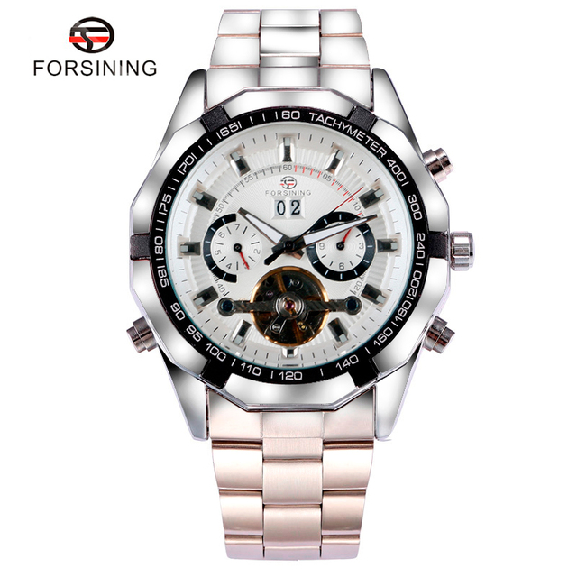 Hot Selling Luxury Forsining Self-winding Mechanical Watch Men Boy Dress Watches Male Gift for Mens relogio masculino
