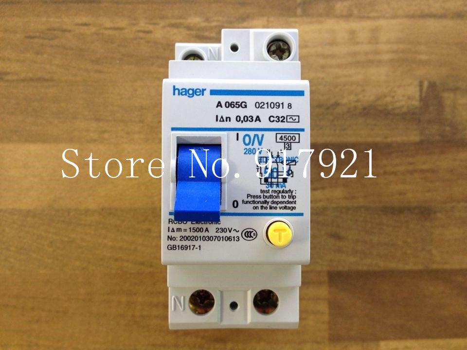 все цены на [ZOB] Hagrid A065G leakage breaker 2P32A electronic 30MA RCBO genuine original  --5pcs/lot онлайн