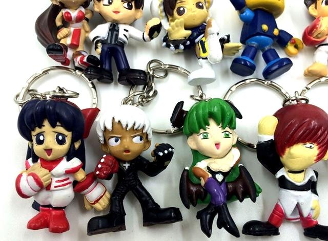 10 Piece Capcom Figurine Set (With Keychain)