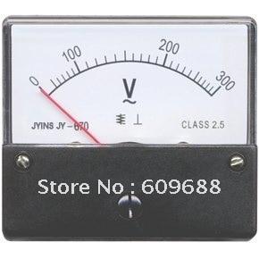 670 Panel Meter Analog 20V DC Voltmeter 60*70mm