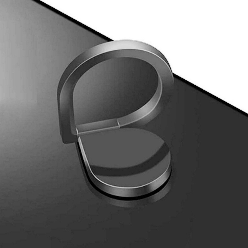 Luxury 360 Degree Rotating Waterdrop Finger Ring Metal Phone Holder Stand Universal For iPhone Samsung Huawei Xiaomi Mount Stand