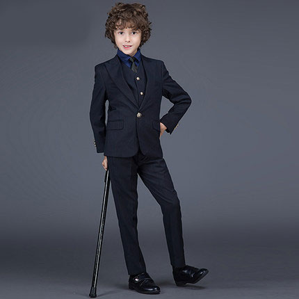 2016new arrival fashion baby boys kids blazers boy suit for weddings prom formal spring autumn Pinstripe dress wedding boy suits 5pcs high quality 2016 baby boys kids blazers boy suit for weddings prom formal sequin dress wedding performance clothing suits