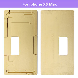 Image 2 - Front Glass /w Frame LCD Position mold For iPhone 6 6S 6P 6SP 8 8P X XS XR XS MAX  alignment mold location mould For iphone X XS