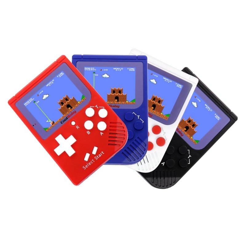 Nova Bolso Handheld Video Game Console 2.2 polegadas LCD de 8 Bits Mini Portátil Game Player Embutido 129 Jogos do Presente de Aniversário para crianças