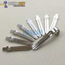 Складной ключ для hyundai Elantra, и скрученный кабель для KIA Freddy Автомобильная Болванка для ключа для мотоцикла замена головки ключа № 50