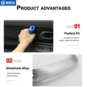 Image 4 - MOPAI Armrest for Suzuki Jimny 2010+ Car Top Roof Handle & Door Grab Handle Cover Accessories for Suzuki Jimny 2010+