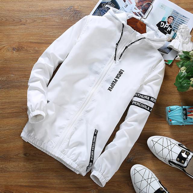 Brand Young men Hooded Thin Jacket plus size Quick Dry Windbreaker tops  long sleeve Waterproof casual jackets rashguard coat