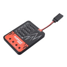 Surpasshobby 5-Slot 540 11T 13T 16T 20T Brushed Motor With 60A Esc Programming Card For Rc Redcat Volcano Epx Blackout Xte Tra waterproof 5 slot 540 550 10t 11t 12t 13t 16t 20t brushed motor w 60a 80a esc for tamiya kyosho traxxas wltoys 1 10 rc car