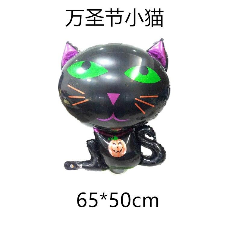 1 adet karikatür siyah Cadılar Bayramı kedi Cadılar Bayramı - Tatiller ve Partiler Için - Fotoğraf 2