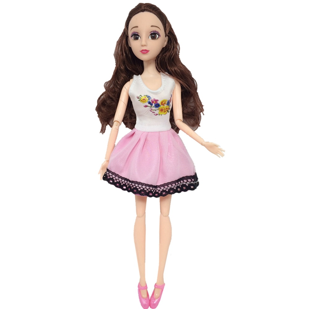Handmade New Baby Doll Clothes Fashion Princess Girl Doll Dress Evening Party Ball Gown Dress for 29cm 11inch Barbies Doll Suits (14)