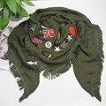 2017 Новый Треугольник Шарф Зимы для женщин fulares mujer desigual echarpes foulards femme теплые шарфы женские платки и шарфы