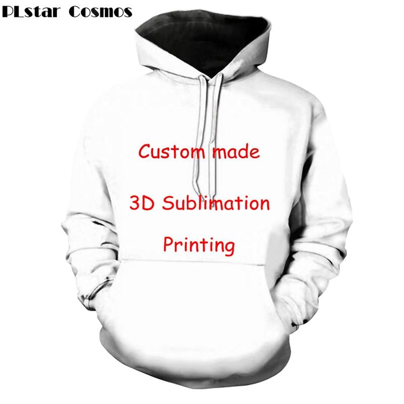 PLstar Cosmos Custom Full Print 3d Hoodies Mens/women Polluver Sweatshirt Men Hoodies Customsize Plus Size Drop Shipping