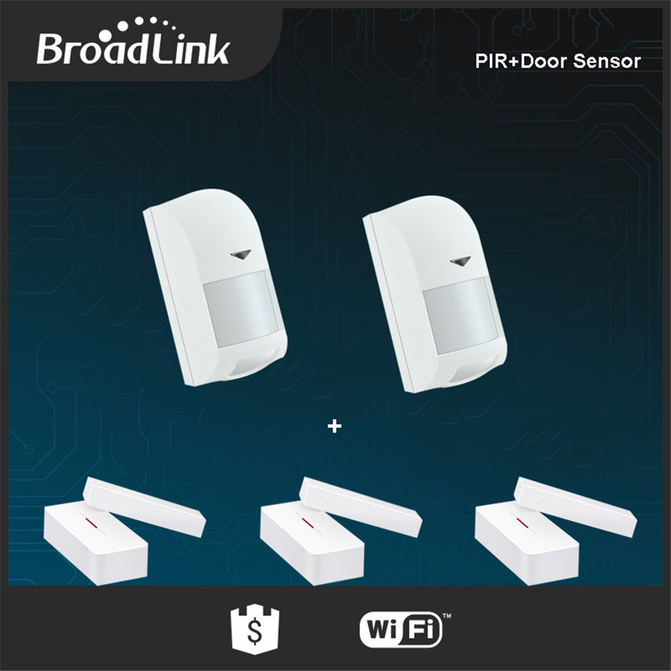 Broadlink PIR Motion Sensor Door Sensor S1C Accessories Alone SmartONE Smart Home Sensor Contorl by IOS and Android via SIC Host ...