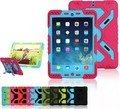 Hot Sale Pepkoo Spider Stand Cover Case Dirt Shock Proof for iPad Mini 2 1 Erectable Paste the Wall/Glass/Table