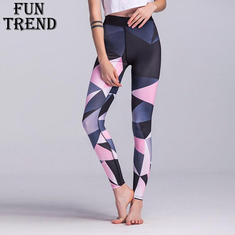 Sport Hosen Sport Hosen Frauen Elastische Gedruckt Yoga Hosen Yoga Leggings Laufhose Sport Leggings Gym Kleidung Fitness Yoga