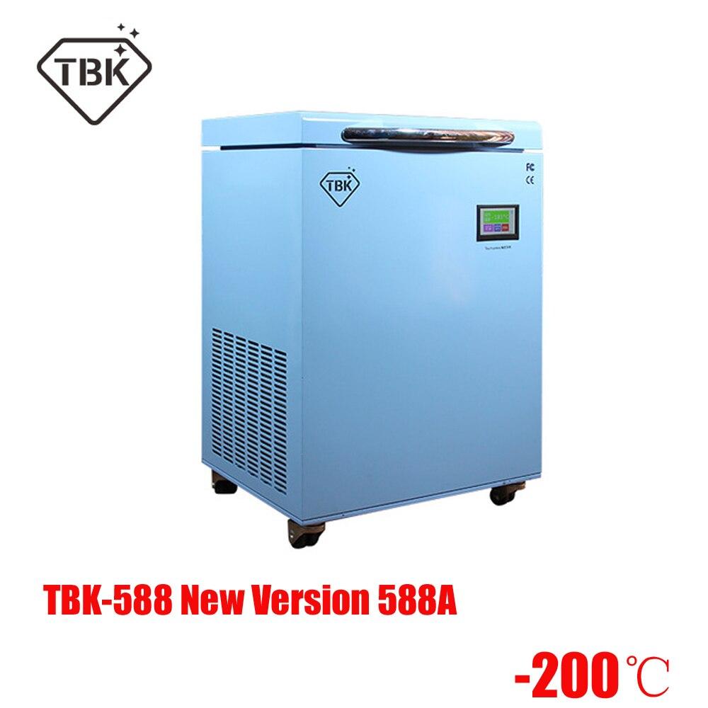 TBK-588 version améliorée 588A Machine de congélation Instruments LCD écran tactile Machine de séparation séparateur congelé professionnel