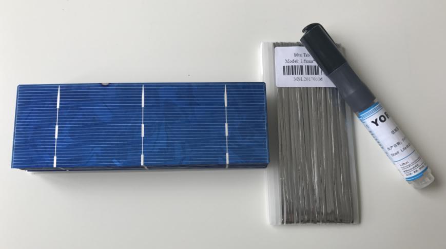 156 мм * 52 мм солнечных батарей 1.4 Вт 0.5 В для панели солнечных батарей diy 50 шт./лот. дать достаточно припоя газа и Потока ручка бесплатно. бесплатная доставка.